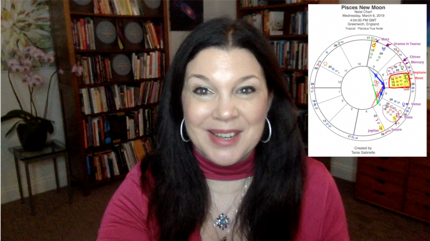 New Moon in Pisces: Unveiling a Bright New World - Tania Gabrielle